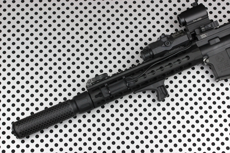 Knight's Armament Airsoft 556 QDC BK