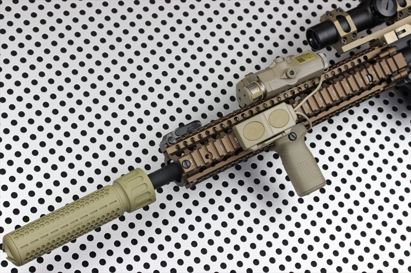 Knight's Armament Airsoft 556 QDC DE