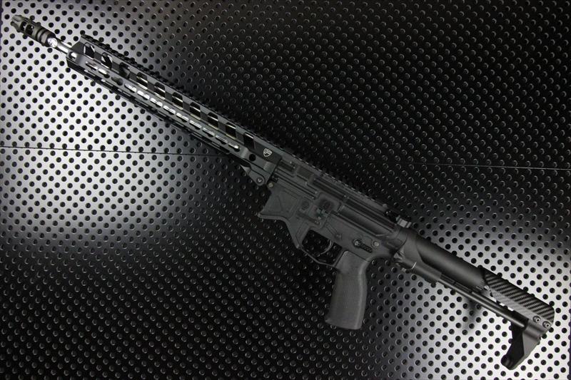 【M4 Gun's フォト】BATTLE ARMS BAD556 東京マルイMWS ガスブロ ORGAコンプリート