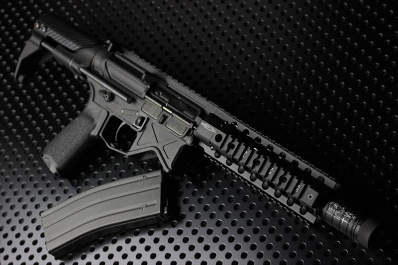 【M4 Gun's フォト】BAD556 x CENTURION 東京マルイMWS ガスブロ ORGAコンプリート