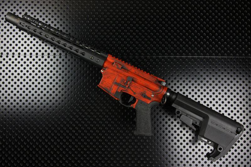 【M4 Gun's フォト】AERO Precision カスタム