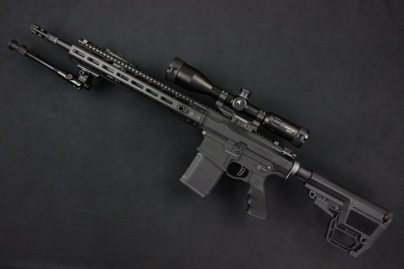 【M4 Gun's フォト】PTS MEGA ARMS AR10 カスタム