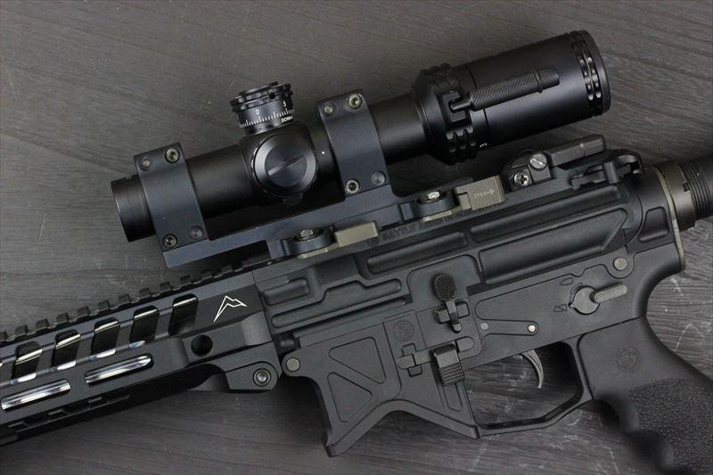 実物 Bushnell AR OPTICS 1-4x 24mm Throw Down PCL