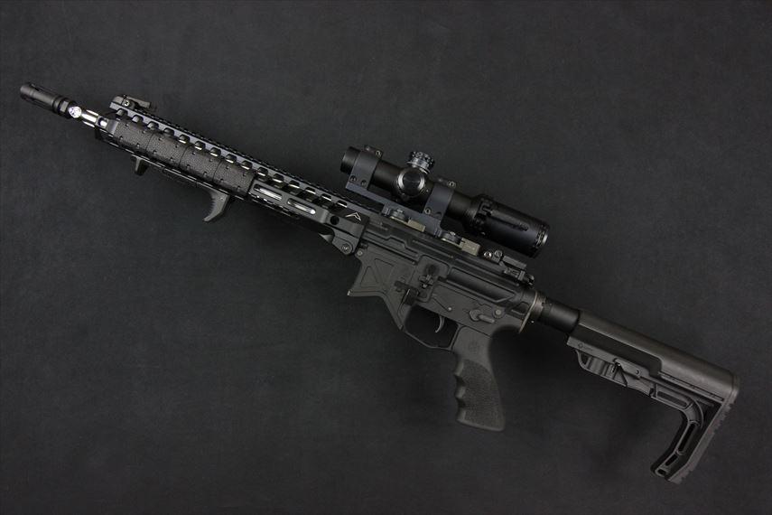 Bushnell AR OPTICS 1-4x 24mm Throw Down PCL 実装画像 左側