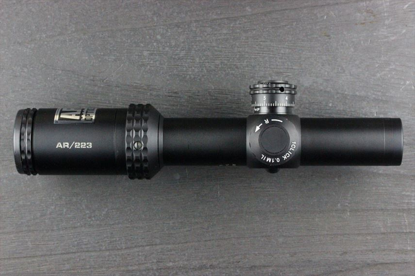 Bushnell AR OPTICS 1-4x 24mm Throw Down PCL 本体 左側画像