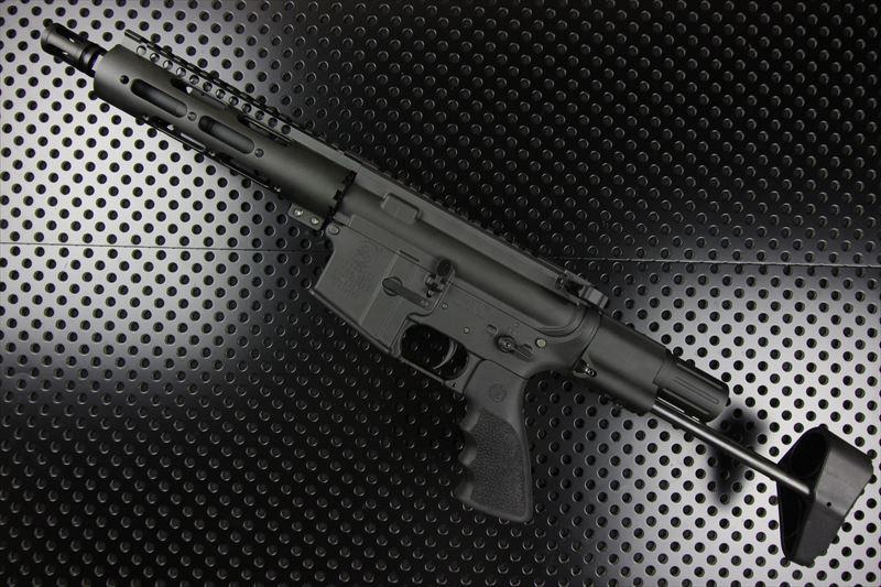 【M4 Gun's フォト】MWS M4ピストルカスタム