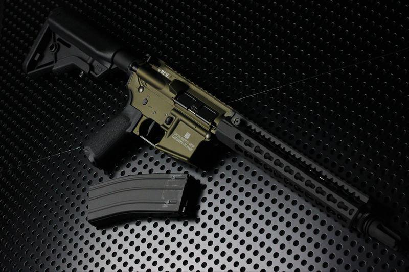 【M4 Gun's フォト】BCM★BPREバーントブロンズ ORGAコンプリート 東京マルイMWS ガスブロ