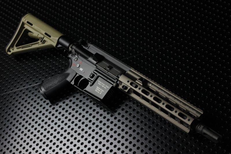 【M4 Gun's フォト】HAO HK416 SMR ORGAトレポンコンプリート