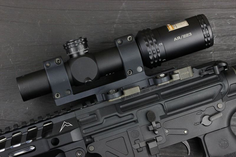 実物 Bushnell AR OPTICS 1-4x 24mm