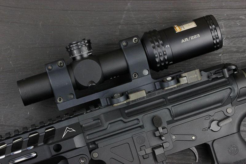 実物 Bushnell AR OPTICS 1-4x 24mm