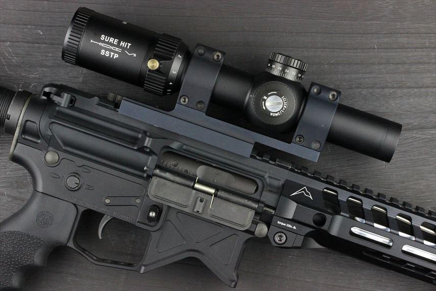 NOVEL ARMS SURE HIT 1824 IR HIDE7 SSTP 実装画像 レシーバー右側