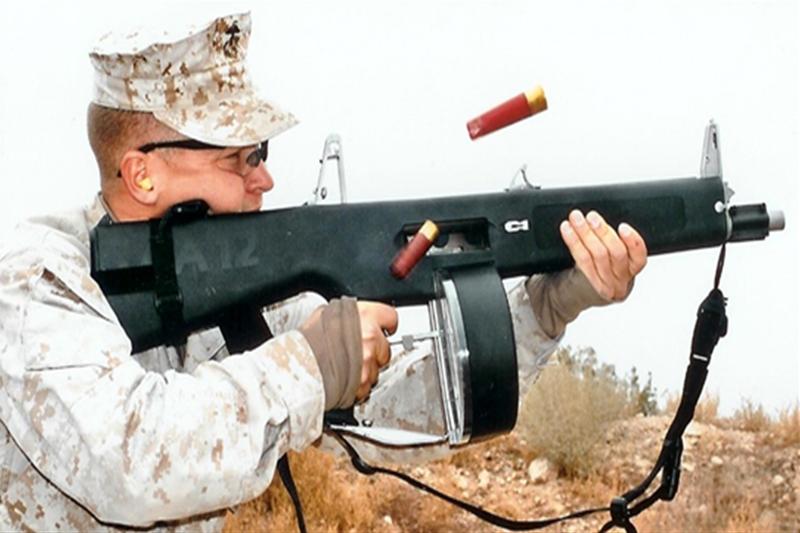 AA-12 SHOT GUN