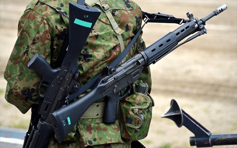 自衛隊が制式化した89式5.56mm小銃:東京マルイが代名詞