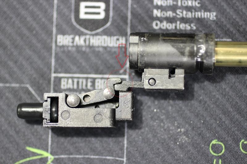 東京マルイ M4MWSガスブロのHOPが掛からない際の対処方法