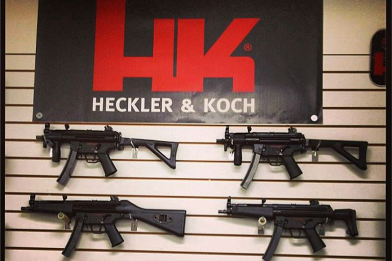 H&K社が製造しているサブマシンガンMP5シリーズ