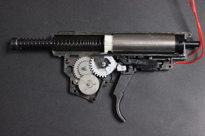 東京マルイ MP5K HC Magnusチューン メカボ 内部パーツ洗浄後
