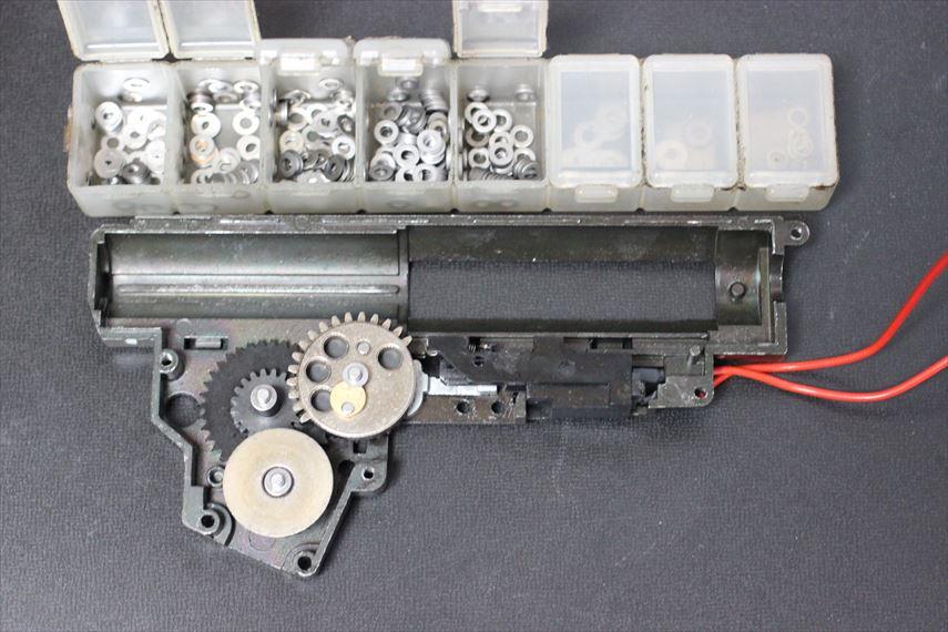 東京マルイ MP5K HC Magnusチューン メカボ内部