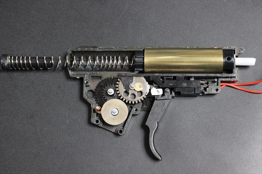 東京マルイ MP5K HC Magnusチューン シリンダー周りグリスアップ