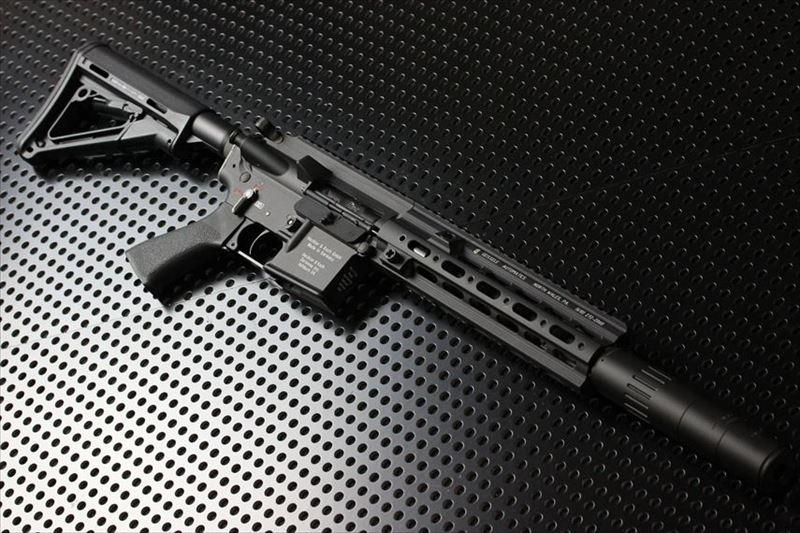 【M4 Gun's フォト】HK416D GEISSELE MWSガスブロ コンプリート(ガイズリー)