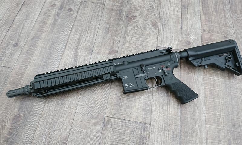 HK416Dコンバージョンキット 東京マルイMWS ガスブロ用