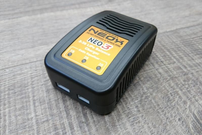 NEOXがフィールドに持っていけるコンパクトサイズLiPo充電器をリリース
