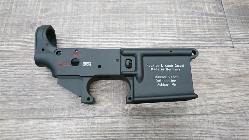 HK416Dロアレシーバー左面