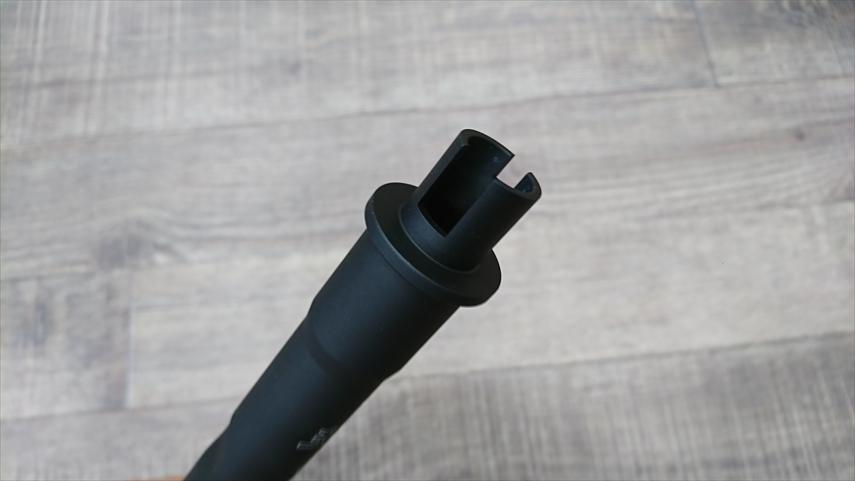 HK416Dアウターバレル後端