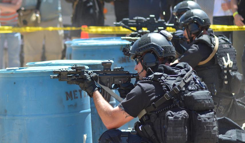 SWATの訓練
