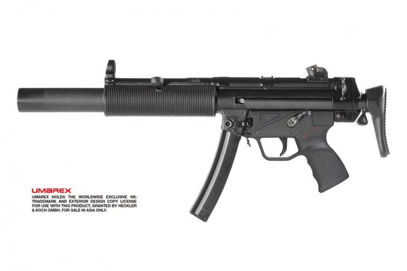 VFC/Umarex MP5SD3 ガスブローバックが2月末リリース
