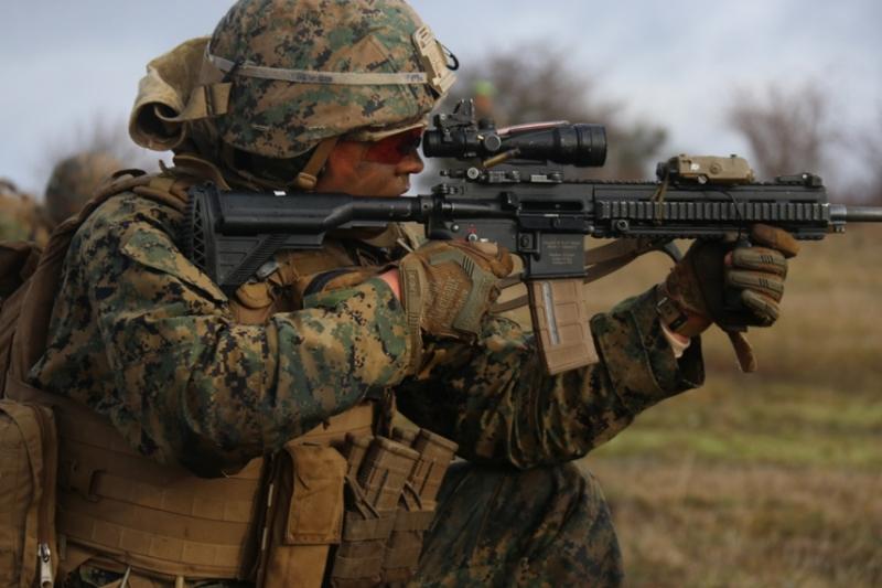 HK416の発展型・派生型のライフルたち