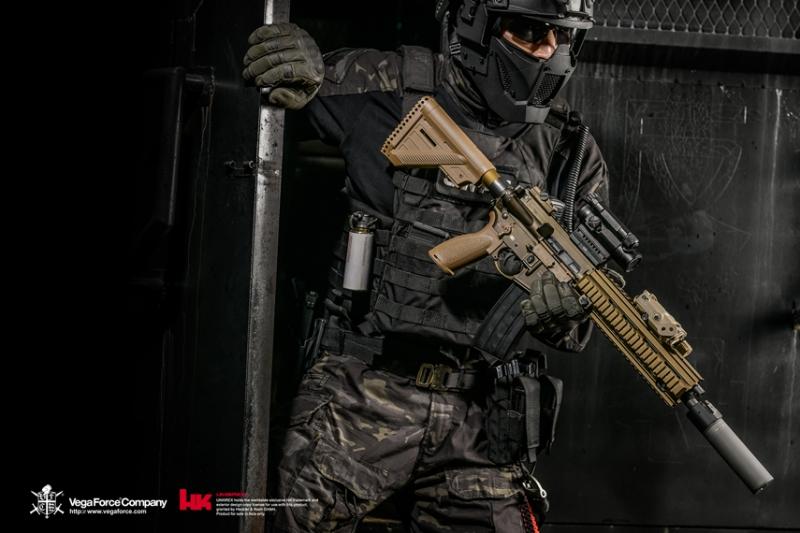 HK416A5で注目されるカラー、RAL8000の魅力