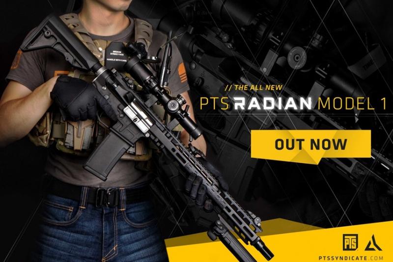 PTSからRadian Model 1 ガスブローバックがリリース!