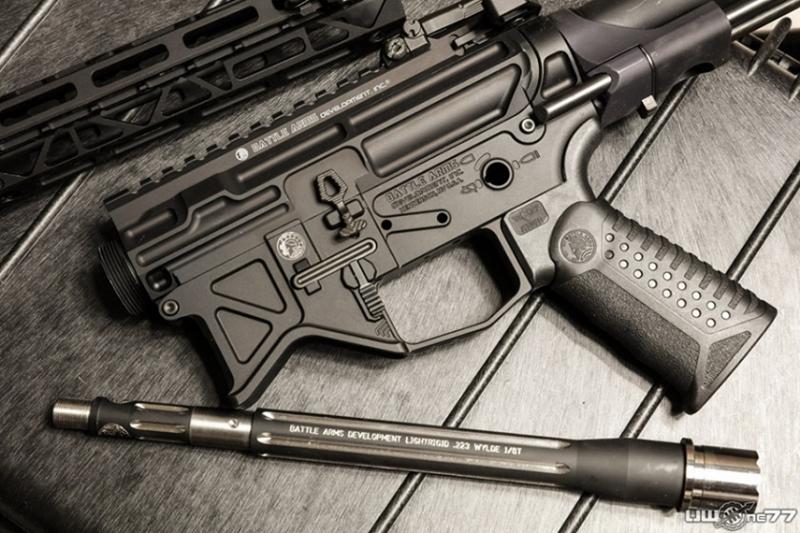 BAD556 軽量化を追求した新進気鋭カスタムメーカーのM4