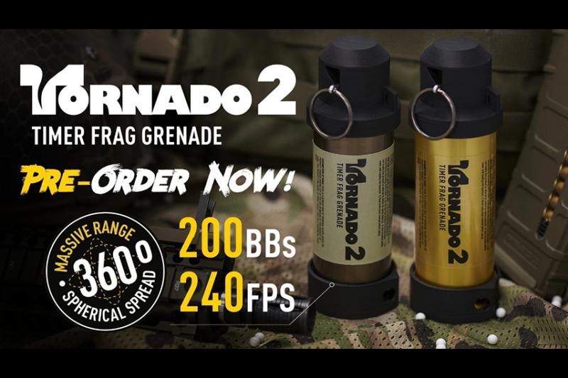 TORNADO 2をAIRSOFT INNOVATIONSが発表!