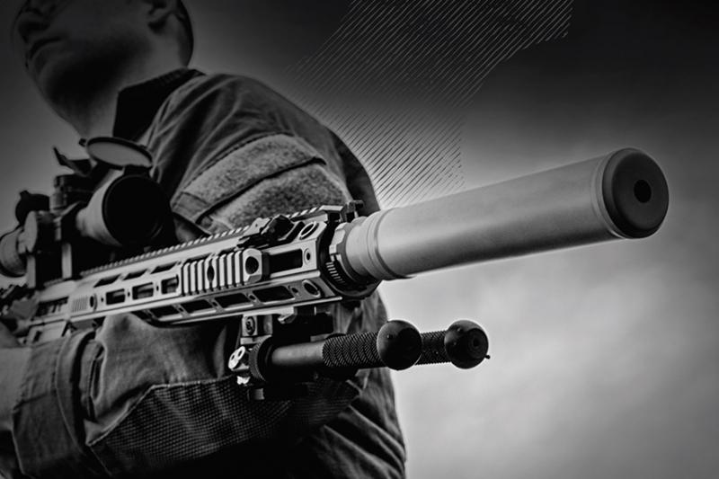 AAC(Advanced Armament CORP)ライフルの「消音」を追求するサイレンサーブランド