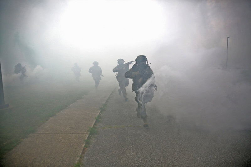 アメリカ海兵隊が都市戦闘の実験及び訓練を実施