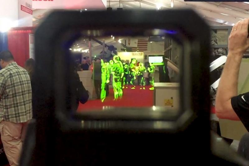 サーマル搭載のドットサイトがアメリカ海兵隊向けのイベントで登場