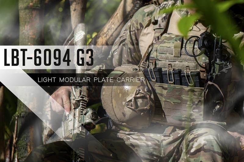 LBTが新型プレートキャリア 6094 G3をリリース!