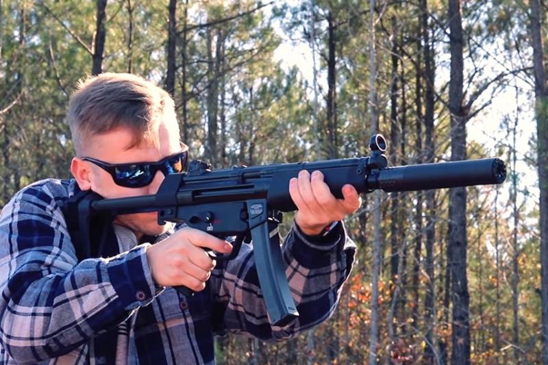HK MP5の民間ピストルモデル:SP5が登場