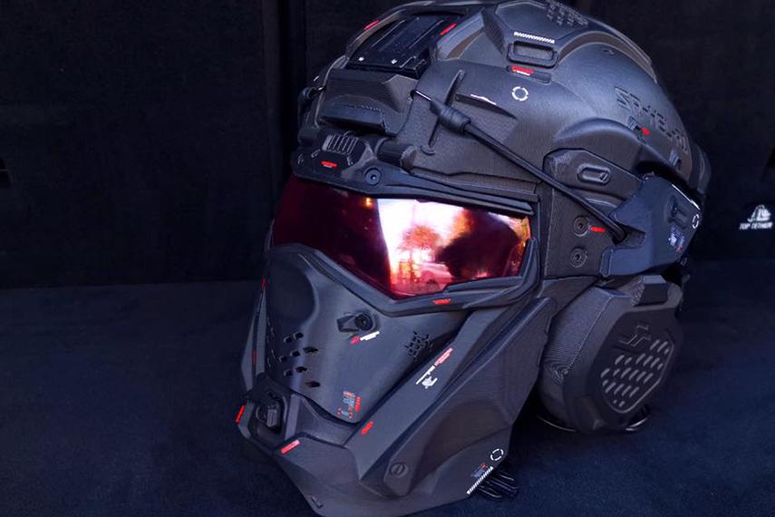 SRUタクティカルヘルメット