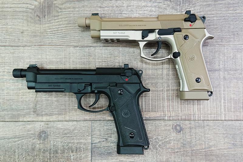 M9A3をCO2ガスブロでモデルアップしたTANIO KOBA x BATON AIRSOFT BM-9