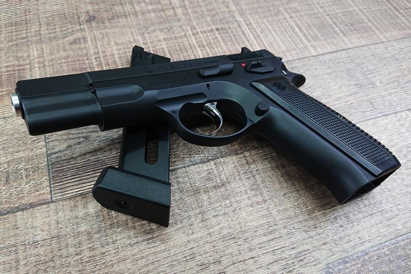 CZ75 CO2ガスブローバック:世界最高のコンバットオートと呼ばれる名銃