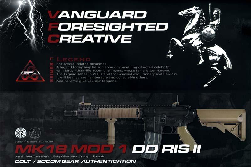 VFC電動ガン Colt Mk18Mod1