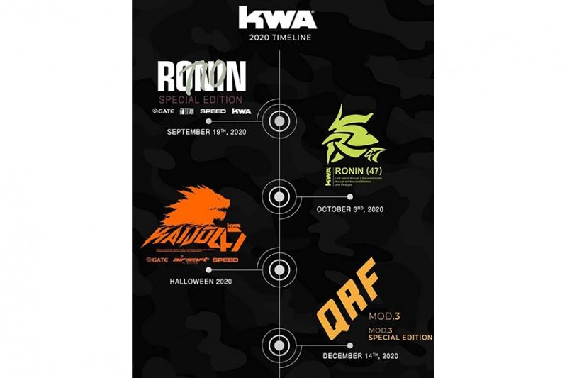 KWAが2020年下半期のリリーススケジュールを公開