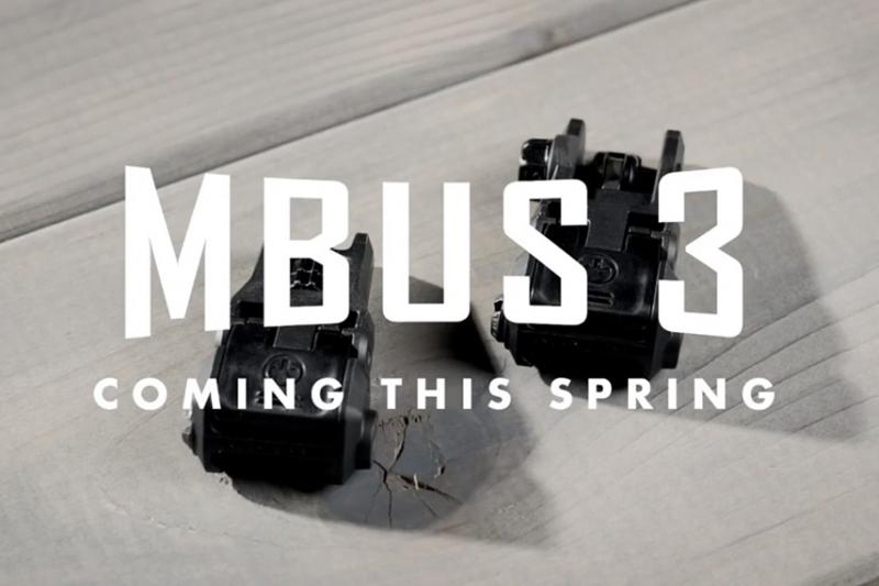 MAGPUL(マグプル)が新型アイアンサイト「MBUS 3」を発表