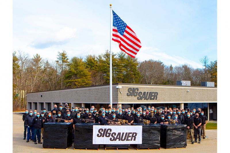 SIG SAUER:NGSWをアメリカ陸軍へ最終納入