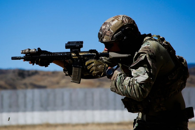 GHK M4A1 RIS2 FSP SOPMOD Block2