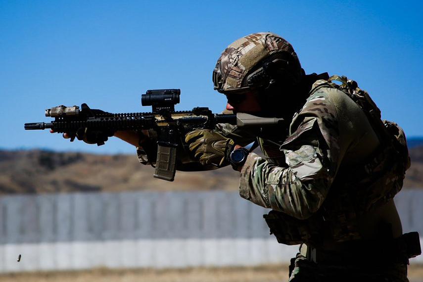 M4A1 RIS2 FSP SOPMOD Block2