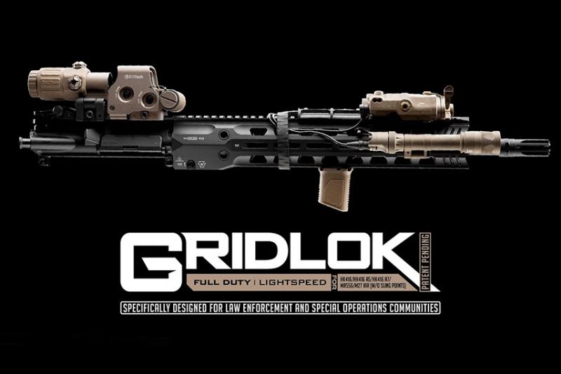 ストライク・インダストリー がHK416用の GRIDLOK ハンドガードをリリース