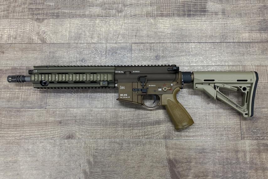 HK416A5 RAL8000 トレポン